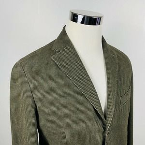 LMB 1911 40R Tailored Sport Coat Houndstooth